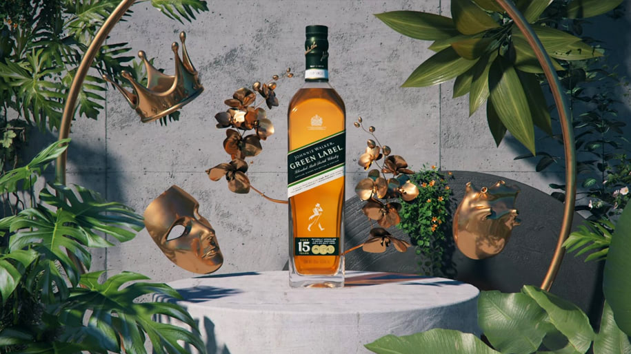 Giá rượu Johnnie Walker Green Label