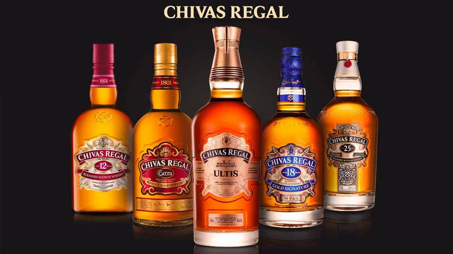 Bạn biết gì về thương hiệu Chivas Regal