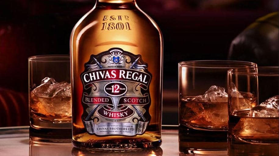 Giá Rượu Chivas 12
