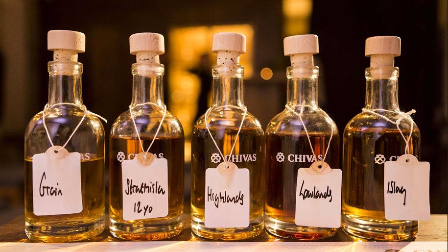 ịch sử rượu Chivas