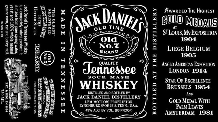 Biểu tượng Jack Daniels Whiskey
