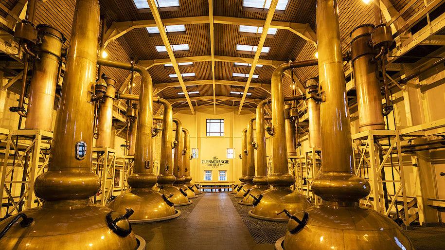 Nhà máy chưng cất Glenmorangie