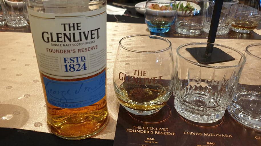 Rượu Glenlivet 1824 Founders Reserve