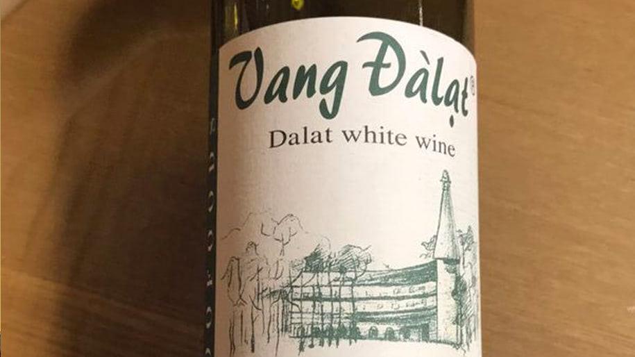 Rượu vang trắng Đà Lạt