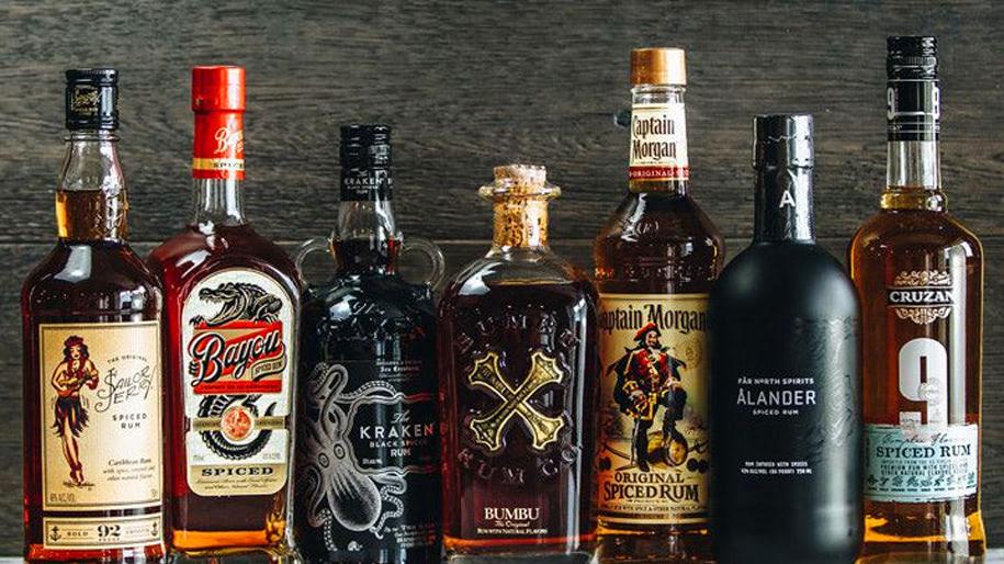 Các loại rượu Rum