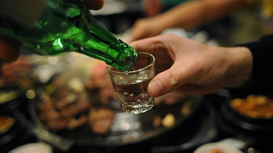 Hương vị và nồng độ của rượu Soju Hàn Quốc