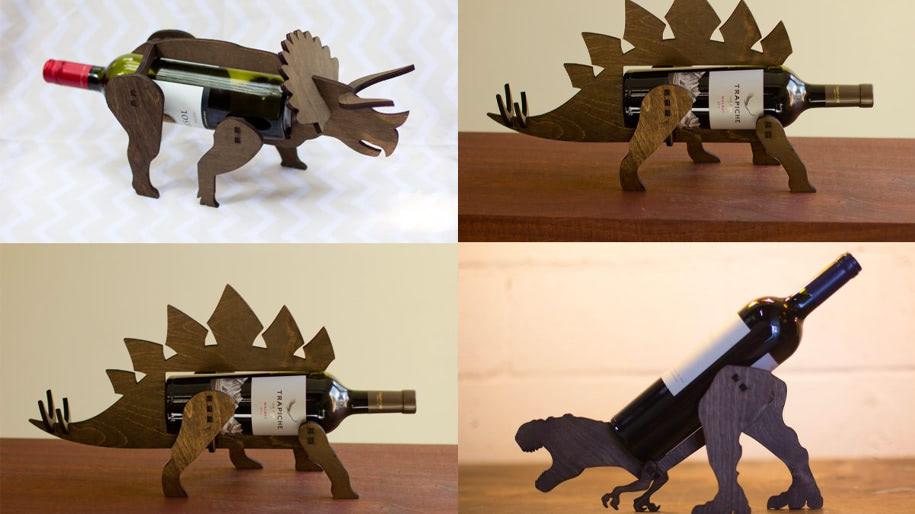 Giá để rượu hình khủng long