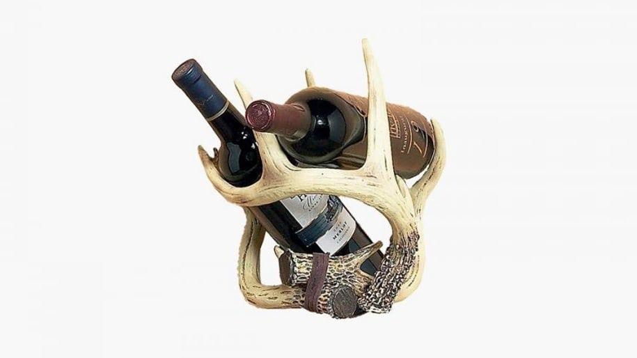 Kệ đựng rượu nhung hươu