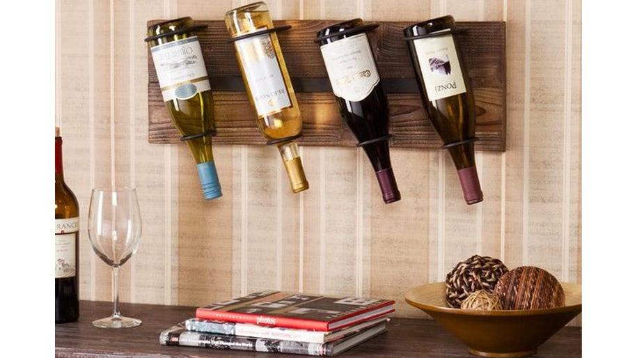 Giá để rượu treo tường đương đại